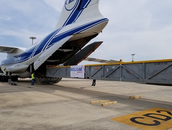 Bolloré Logistics Houston handles an IL-76 air charter for one of its oil customer