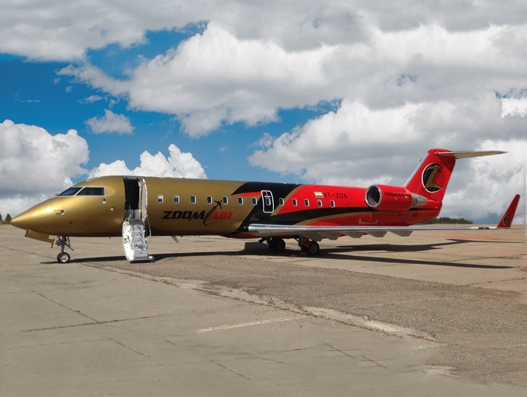 Zoom Air Joins Bombardier's CRJ Series Aircraft Operators