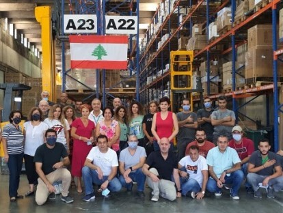 DAMCO's Lebanon team back in action within 24 hours of Beirut blasts