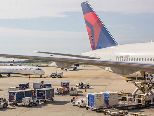 Delta Cargo connects Narita and Haneda in Japan
