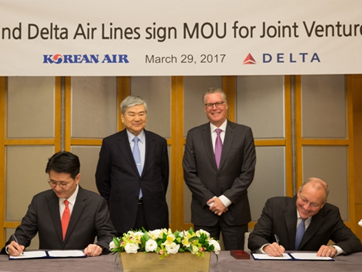 Delta and Korean Air to expand partnership