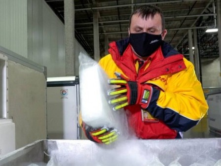 DHL delivers Covid-19 vaccines from Belgium to Japan