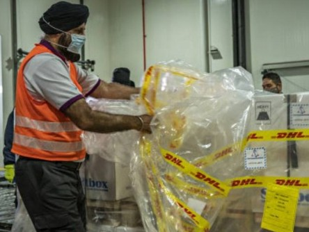DHL delivers first batch of Covid-19 vaccines to Singapore