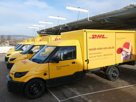 DHL employs 10,000th StreetScooter for parcel-delivery operations