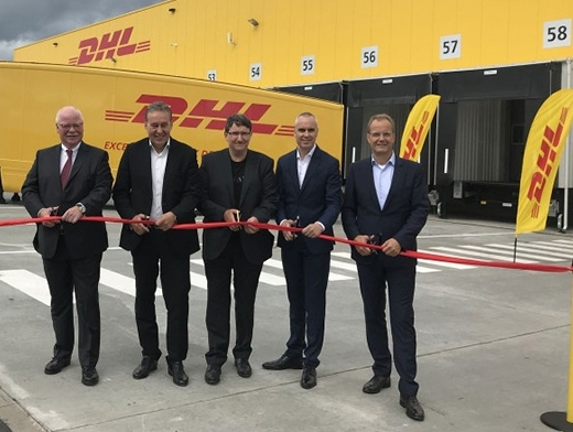 DHL opens new transshipment terminal near Hanover airport