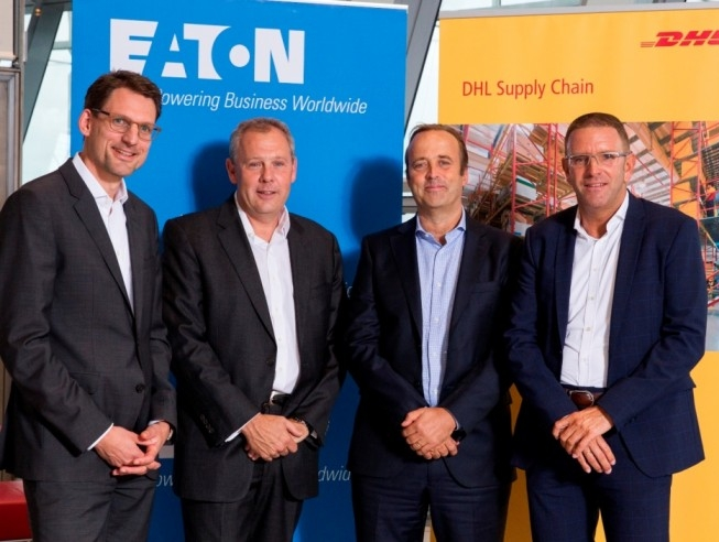 DHL to create and manage European distribution centers for Eaton's electrical business