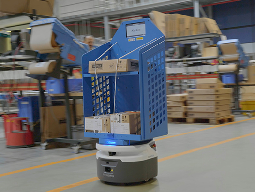 Wärtsilä and DHL deploy mobile robots for warehouse operations