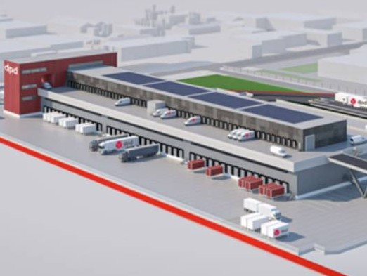DPD and Montea develop ultramodern sorting centre