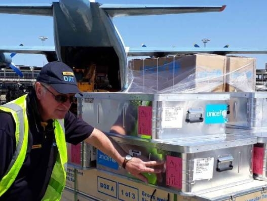 DPDHL Group's Disaster Response Team comes to aid of cyclone-hit Mozambique