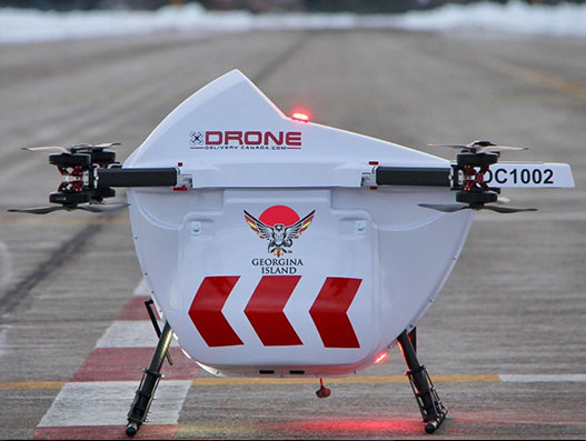 Drone Delivery Canada deploys drones to serve Georgina Island First Nation
