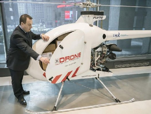 Drone Delivery Canada starts commercial testing of the Condor