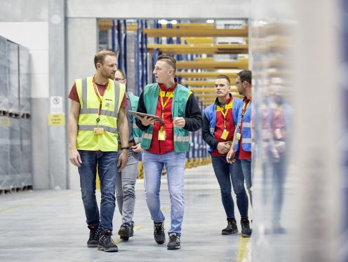 DHL launches software platform for warehouse robotics with Microsoft, Blue Yonder
