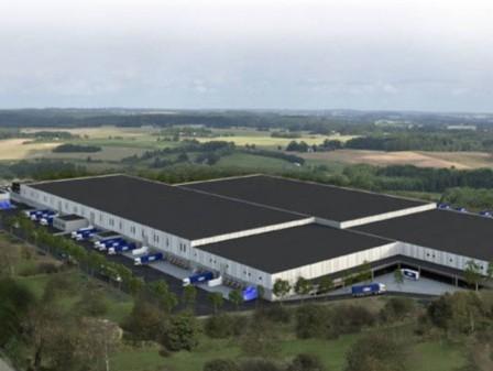 DSV builds integrated logistics centre in Sweden