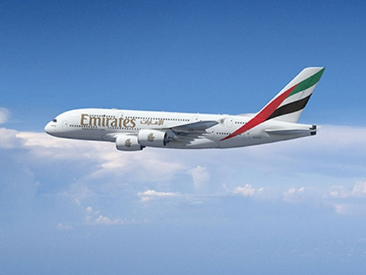 Emirates introduces A380 on its double daily service to Moscow