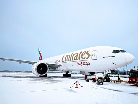 Emirates' cargo division completes two years of freighter operations to Oslo