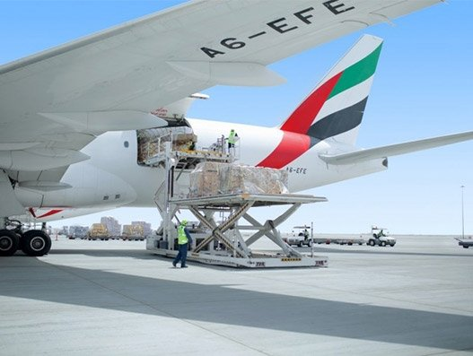 Emirates deploying sufficient air cargo capacity to ensure constant supply