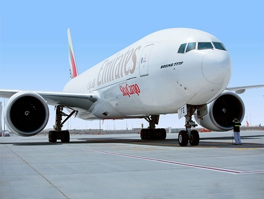 Emirates' fifth anniversary of Ecuador freighter operations