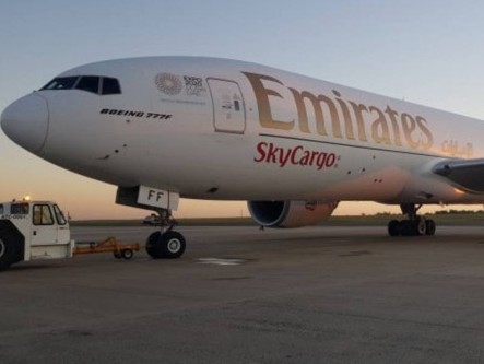 Emirates SkyCargo completes 10 years of cargo-only flights to Viracopos in Brazil
