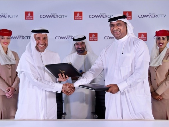 Emirates SkyCargo inks deal with Dubai CommerCity to develop solutions