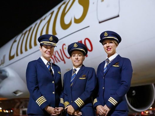 Emirates Skycargo operates all-women flight deck crew covering 6 cities across 4 continents
