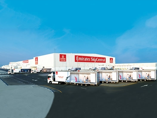 Emirates SkyCargo transports one million ULDs through its bonded trucking service