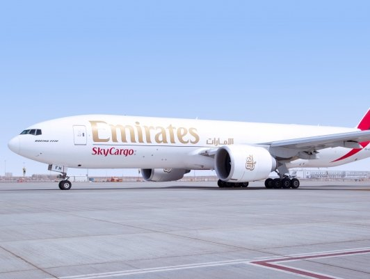 Emirates SkyCargo is maintaining food supplies in UAE