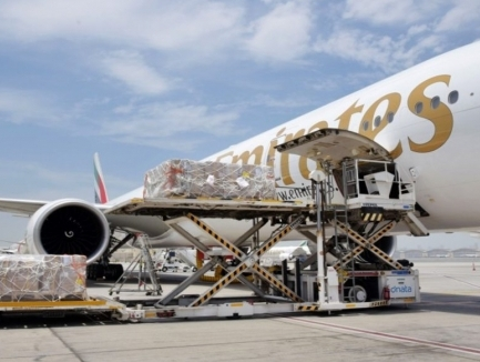 Emirates flies 100 tonnes of Covid-19 relief cargo free of charge to India in May