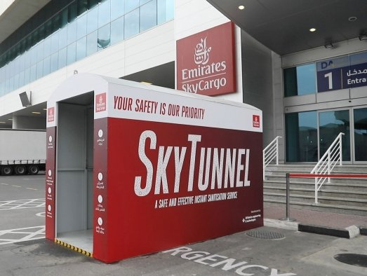 Emirates SkyCargo deploys advanced safety measures
