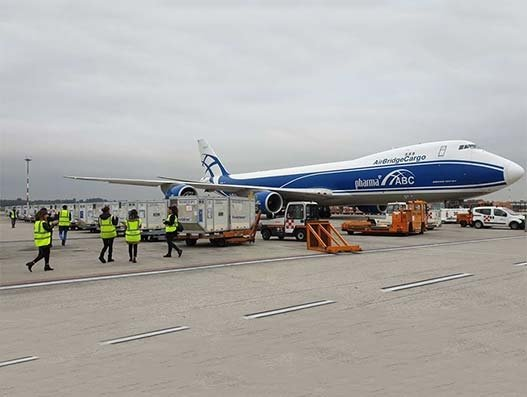 Envirotainer, AirBridgeCargo, Kuehne+Nagel partner to deliver medical supplies from Italy to China