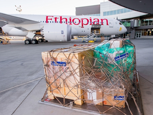 Ethiopian Airlines joins hands with Boeing and NGO's to deliver humanitarian shipment