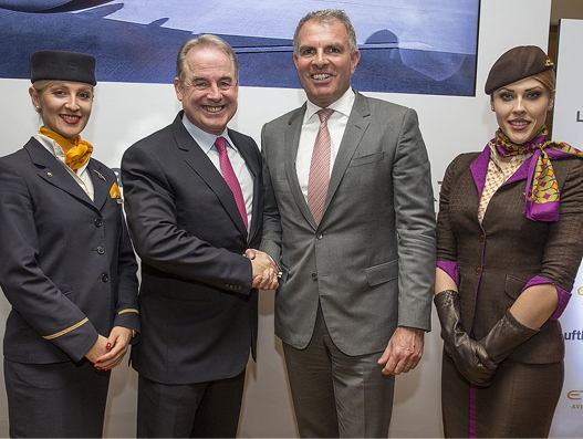 Etihad Aviation Group, Lufthansa Group extend cooperation