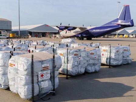 EU to set up logistics center for humanitarian aid at Leipzig/Halle Airport