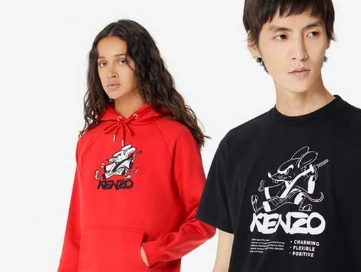 Fashion house Kenzo begins first Chinese partnership with Alibaba's Tmall