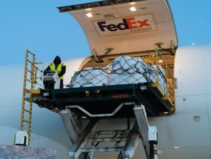 FedEx Express flies over 780 oxygen concentrators, medical equipment in second charter operation