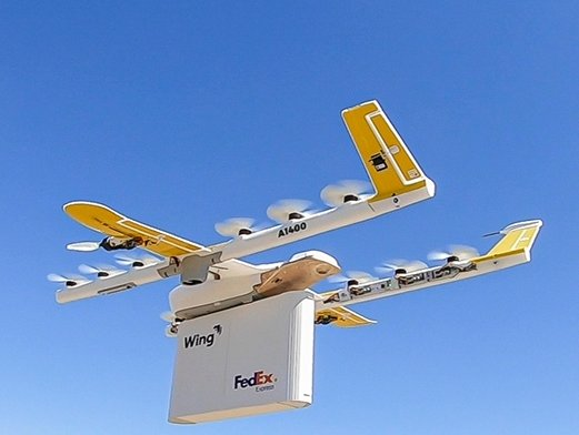 Wing to conduct drone delivery tests in US with FedEx and Walgreens