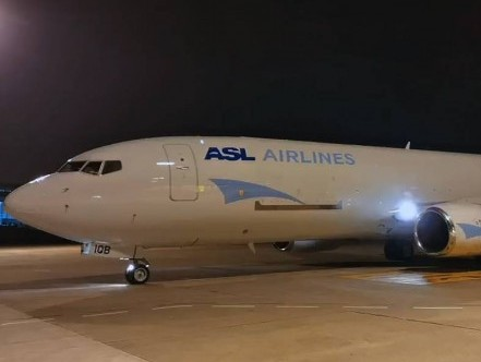 First ASL Airlines B737-800BCF enters service in France