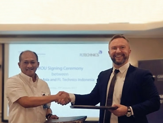 FL Technics Indonesia signs MoU with Indonesia's GMF AeroAsia
