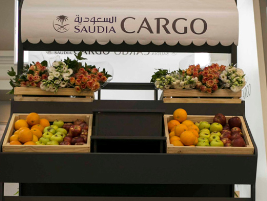 "Saudia Cargo exhibit its thematic ""Fly Perishables"""
