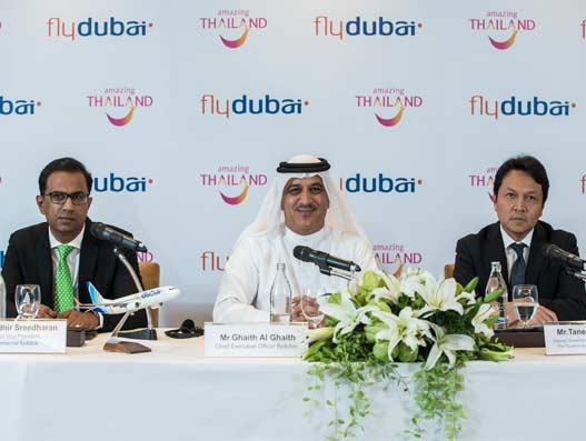 flydubai launches Bangkok service