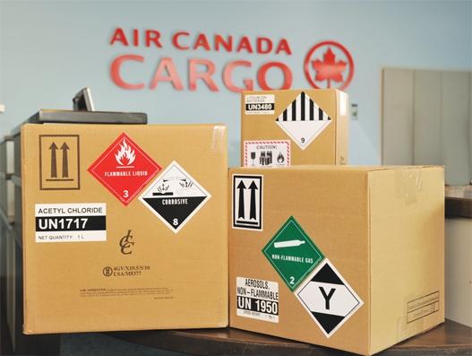 Flying hazardous goods