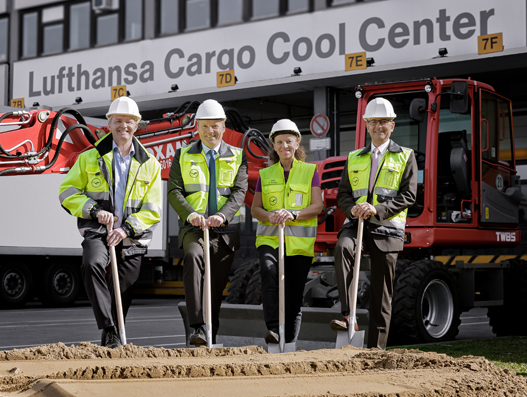 Lufthansa Cargo Cool Center expansion begins