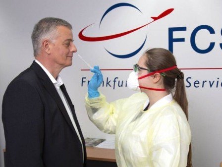 Frankfurt air freight handlers conduct large-scale Covid-19 testing campaign