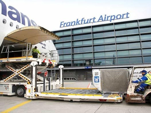 Frankfurt Airport cargo volumes down by 25%