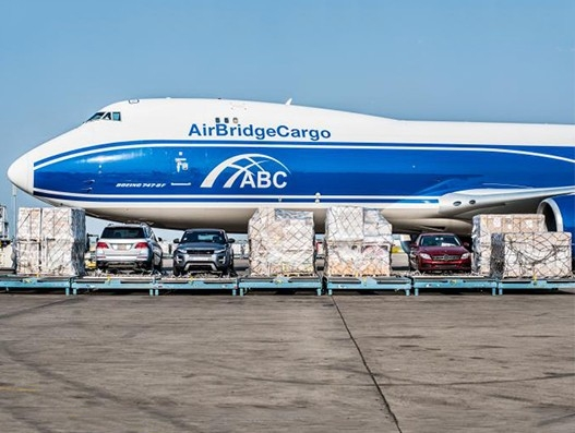GECAS acquires 747-8 freighter and extends relationship with AirBridgeCargo