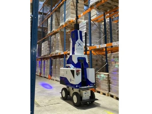 GEODIS, Delta Drone lunch warehouse-inventory solution
