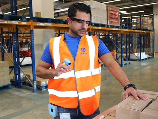 Geodis experiments smart glasses in its Cologne facility