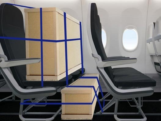From Covid-19 Issue: Getting innovative with The SeatBox as cargo travels passenger cabins