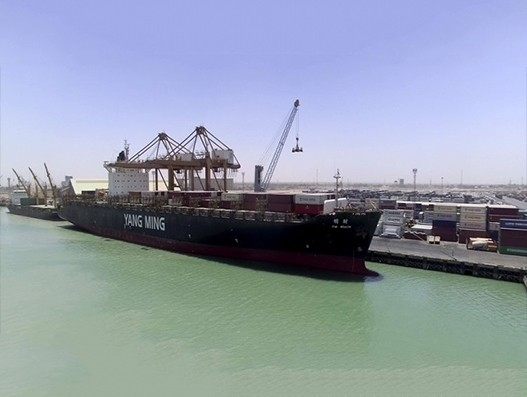 Gulftainer handles largest container vessel to arrive at Iraqi ports