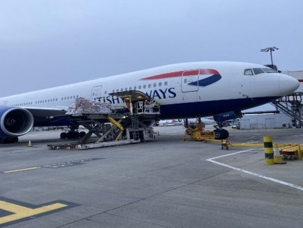 IAG Cargo makes record uplift of nearly 54 tonnes of cargo from Nairobi to Heathrow