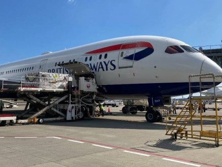 IAG Cargo restarts direct service from London to South Korea